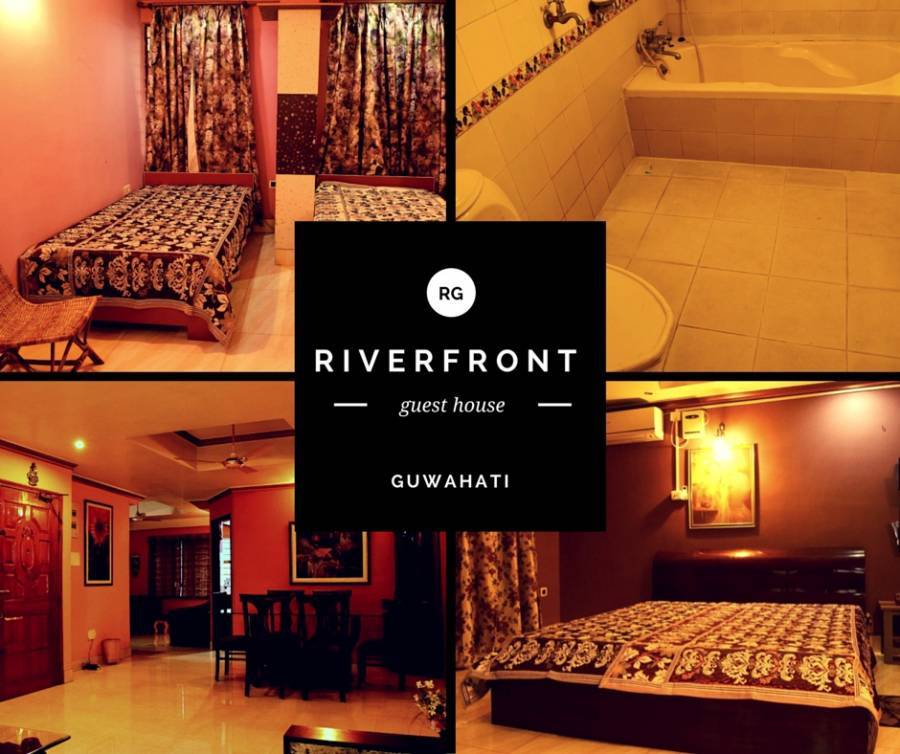 Riverfront Guest House, Guwahati, India, India hostels and hotels