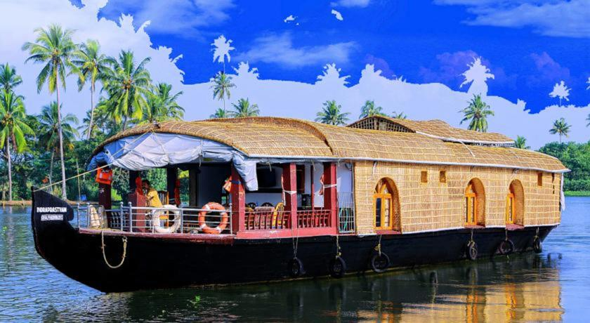Riverland House Boat, Alleppey, India, India hostels and hotels
