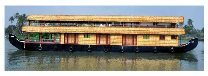 Sreekrishna Houseboat, Alleppey, India, India hostels and hotels
