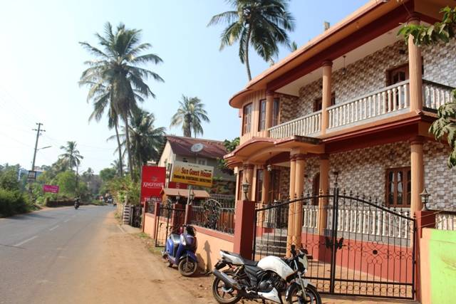 Sun Guest House and Apartment, Calangute, India, India bed and breakfasts and hotels