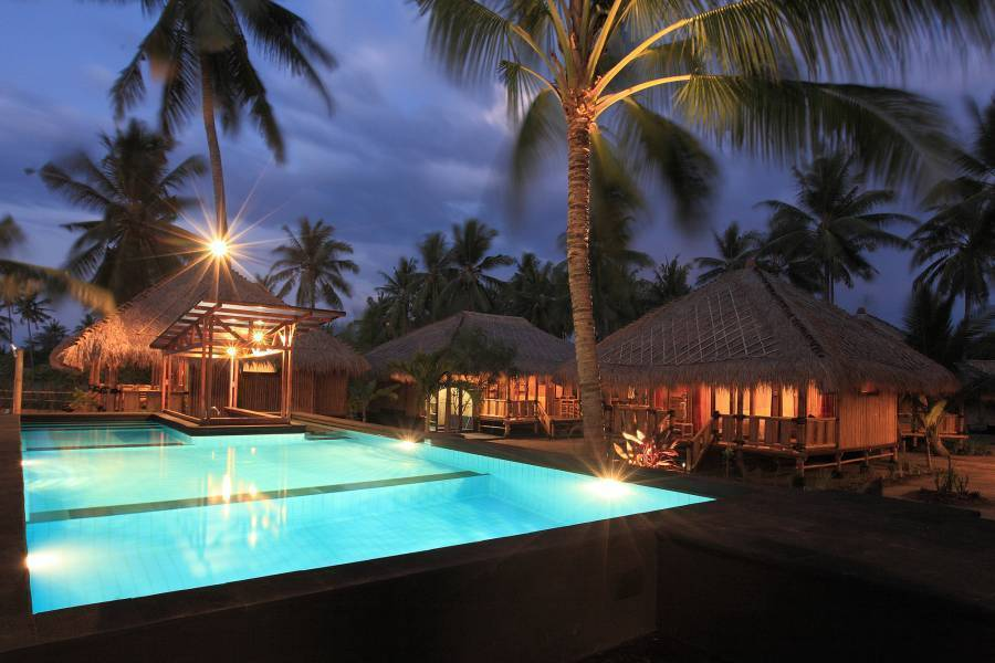 Rinjani Beach Eco Resort, Tanjung, Indonesia, youth hotels and cheap bed & breakfasts, stay close to what you want to see and do in Tanjung