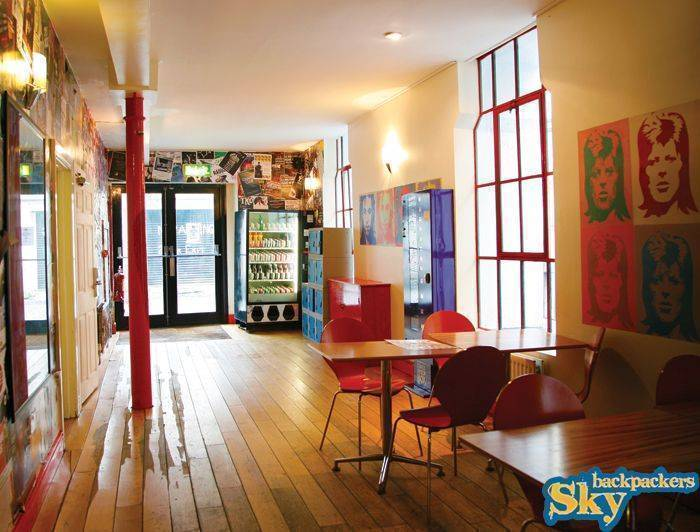 Sky Backpackers - The Liffey, Dublin, Ireland, best North American and European bed & breakfast destinations in Dublin