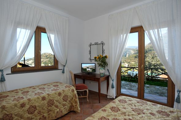 BB Ville Vieille, Sorrento, Italy, what is an eco-friendly bed & breakfast in Sorrento