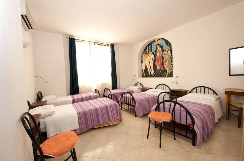 Central Hostel, Florence, Italy, bed & breakfasts with kitchens and microwave in Florence