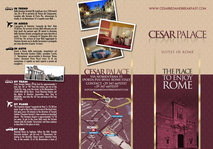 Cesar Palace, Rome, Italy, Italy bed and breakfasts and hotels
