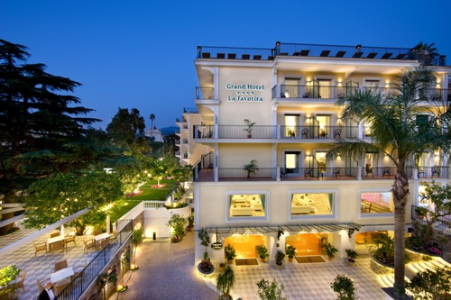 Grand Hotel La Favorita, Sorrento, Italy, top quality holidays in Sorrento