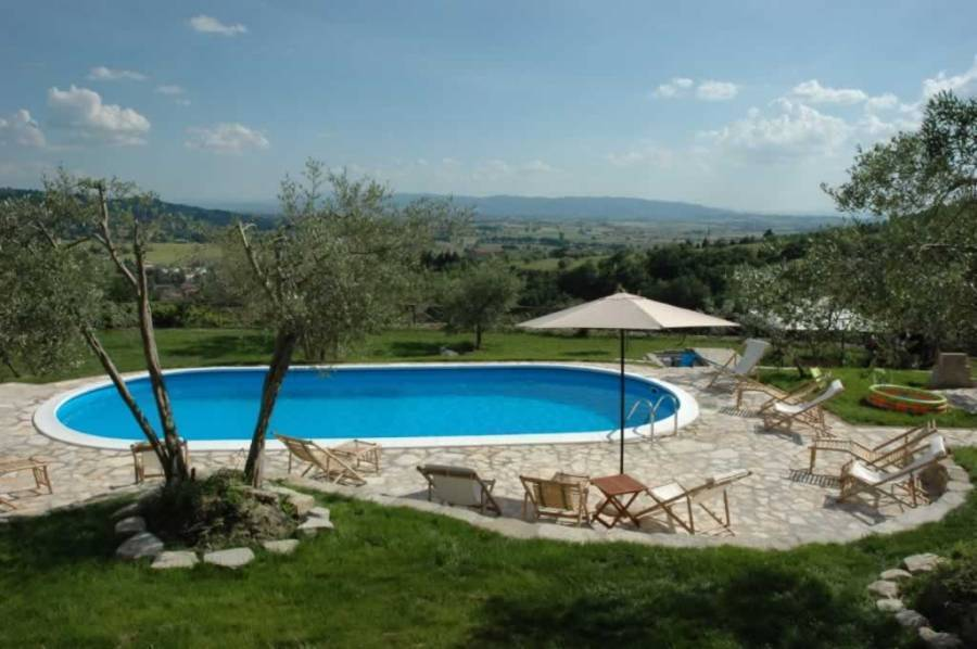 Ospitalita' Rurale Castel D'arno, Perugia, Italy, bed & breakfasts for vacationing in winter in Perugia