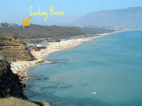 Sunbay House, Balestrate, Italy, cheap lodging in Balestrate