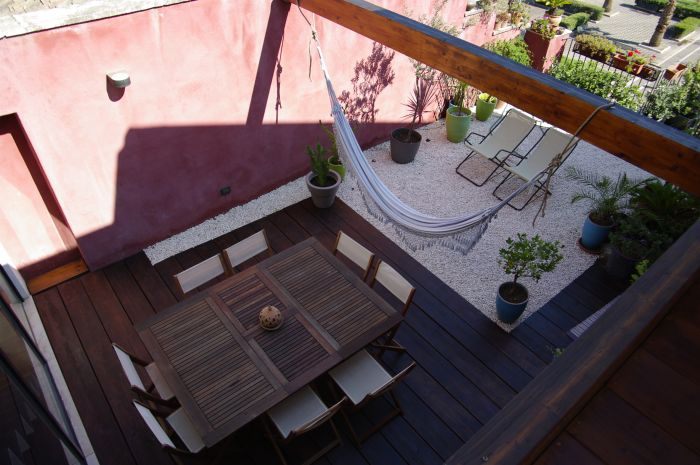 Ursino Roof Garden, Catania, Italy, first class bed & breakfasts in Catania