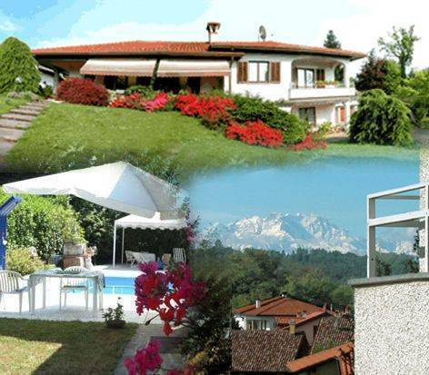 Villa Monterosa - Bed and Breakfast, Castronno, Italy, Italy bed and breakfasts and hotels