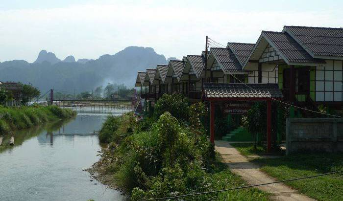 Saysong Guest House - Search for free rooms and guaranteed low rates in Muang Vangviang, popular places to stay 5 photos