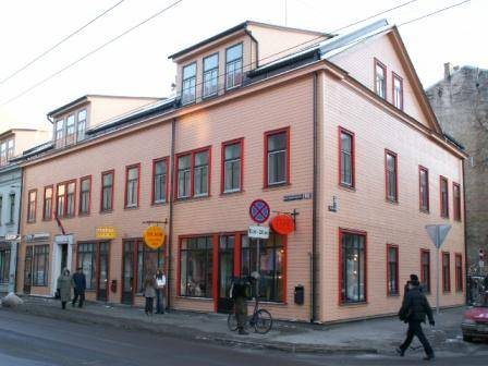 Central Hostel, Riga, Latvia, how to select a bed & breakfast and where to eat in Riga