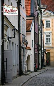 Red Roofs Apartment Hotel, Vecriga, Latvia, Latvia 침대와 아침 식사와 호텔