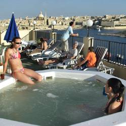 The Marina Hotel, Sliema, Malta, coolest hostels in the world in Sliema