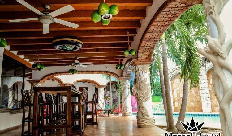 Mezcal Hostel - Get cheap hostel rates and check availability in Cancun, how to book a hostel without booking fees 13 photos