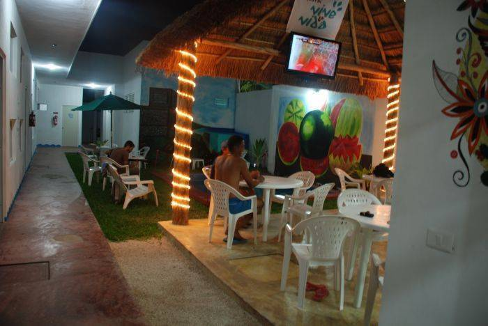 Hostel Vive La Vida, Playa del Carmen, Mexico, guest benefits in Playa del Carmen