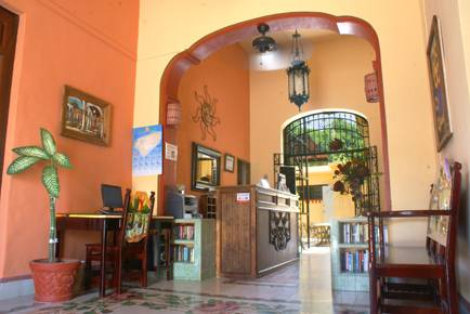 Hotel del Pergrino, Merida, Mexico, preferred site for booking accommodation in Merida