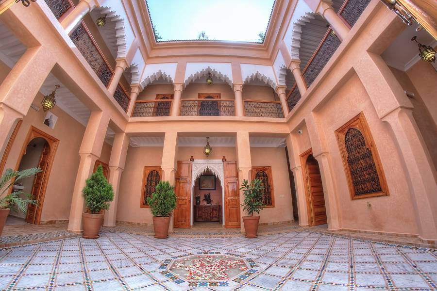 Dar Tasnime, Marrakech, Morocco, inspirational travel and bed & breakfasts in Marrakech