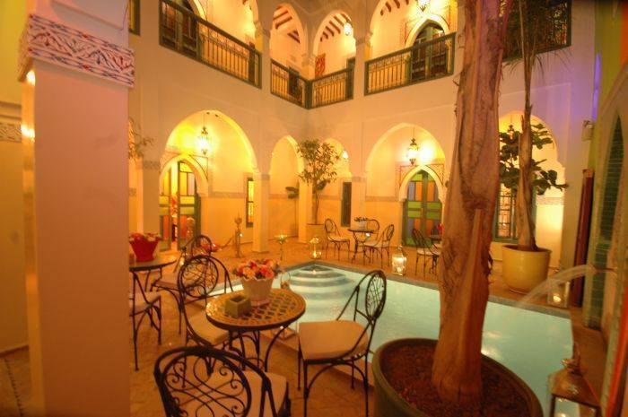 Riad Caesar, Marrakech, Morocco, Morocco hostels and hotels