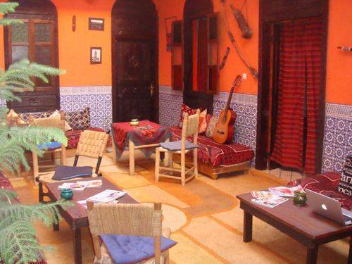 Hostel Riad Mama Marrakech, Marrakech, Morocco, travel bed & breakfasts for tourists and tourism in Marrakech