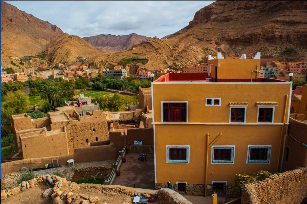 Les Jardins Des Gorges de Todgha, Tineghir, Morocco, Morocco hostels and hotels