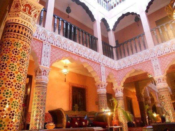 Riad 1001 Nuits, Marrakech, Morocco, bed & breakfasts and rooms with views in Marrakech