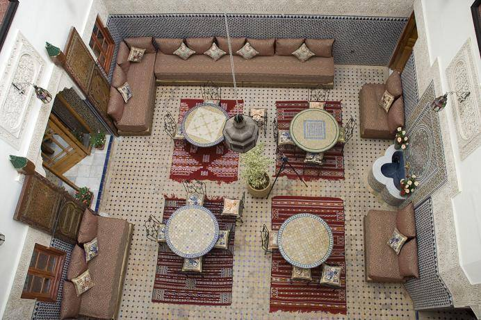 Riad Al Akhawaine, Fes al Bali, Morocco, most reviewed bed & breakfasts for vacations in Fes al Bali