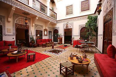 Riad Amiris, Marrakech, Morocco, fashionable, sophisticated, stylish bed & breakfasts in Marrakech