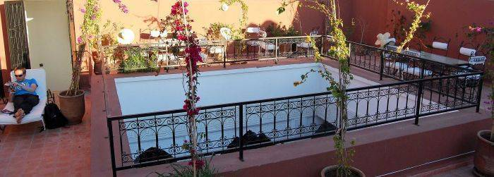 Riad Hannah, Marrakech, Morocco, alternative hostels, cheap hotels and B&Bs in Marrakech