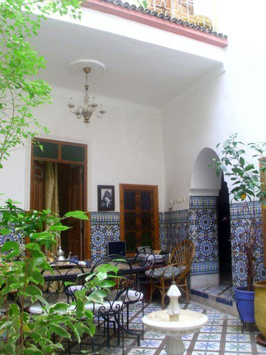 Riad Iaazane, Marrakech, Morocco, live like a local while staying at a hostel in Marrakech