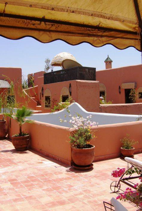 Riad Itrane, Marrakech, Morocco, more hostel choices for great vacations in Marrakech