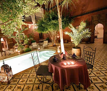 Riad Jardin Grenadine, Marrakech, Morocco, best bed & breakfasts for parties in Marrakech