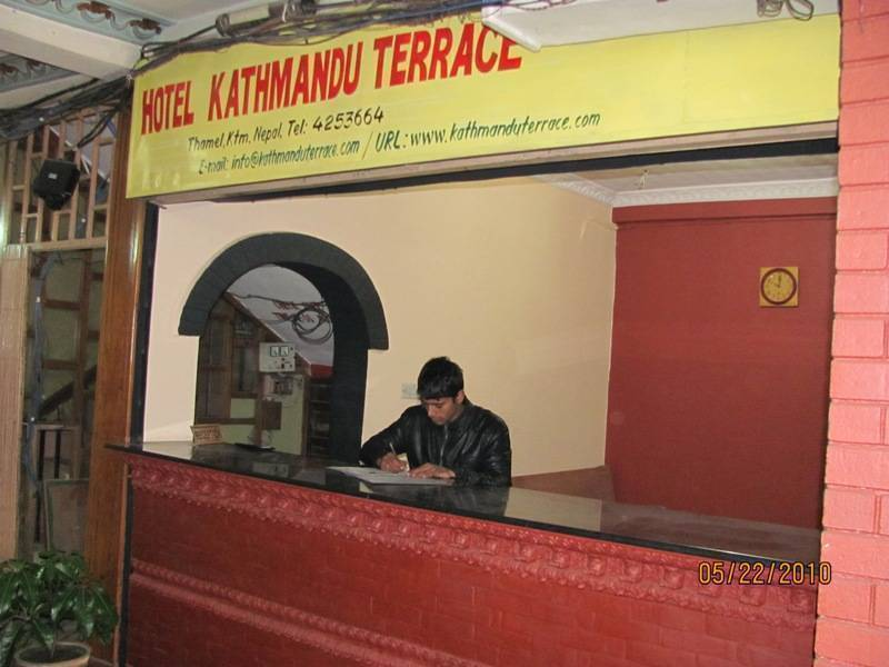 Hotel Kathmandu Terrace, Kathmandu, Nepal, backpackers gear and staying in hotels or budget bed & breakfasts in Kathmandu