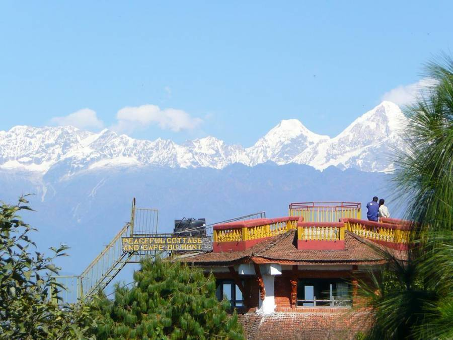 Peaceful Cottage and Cafe Du Mont, Nagarkot, Nepal, Nepal bed and breakfasts and hotels