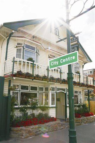 Croydon House B and B Hotel, Christchurch, New Zealand, New Zealand hostels and hotels