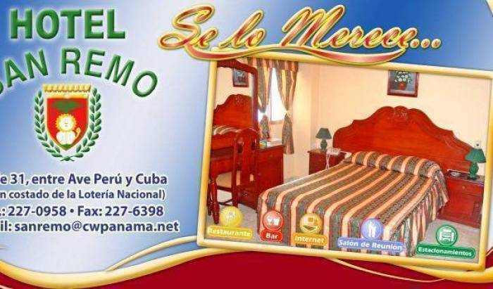 Hotel San Remo - Search available rooms and beds for hostel and hotel reservations in Panama 1 photo