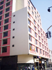 Continental Hotel, Lima, Peru, Peru hostels and hotels