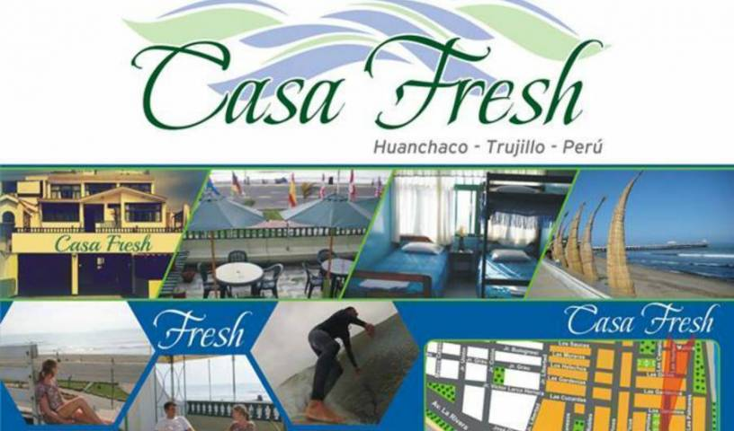 Casa Fresh - Search for free rooms and guaranteed low rates in Huanchaco, youth hostel 5 photos