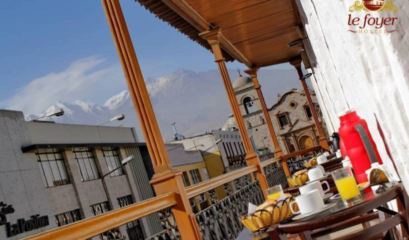 Le Foyer Hostel, compare with famous sites for hostel bookings in Arequipa, Peru 12 photos
