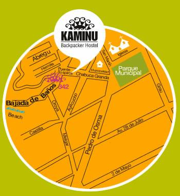 Kaminu Backpacker Hostel, Lima, Peru, Peru hostels and hotels
