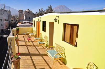 Misti House Posada, Arequipa, Peru, hostels near transportation hubs, railway, and bus stations in Arequipa