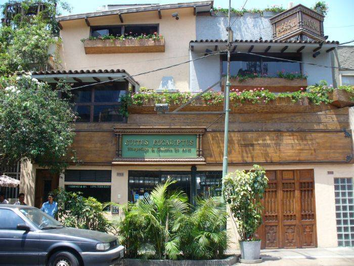 Suites Eucaliptus, Miraflores, Peru, Peru hostels and hotels