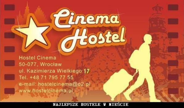 Hostel Cinema - Get cheap hostel rates and check availability in Wroclaw, backpacker hostel 13 photos
