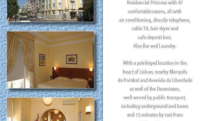 Residencial Princesa - Search available rooms and beds for hostel and hotel reservations in Lisbon 1 photo