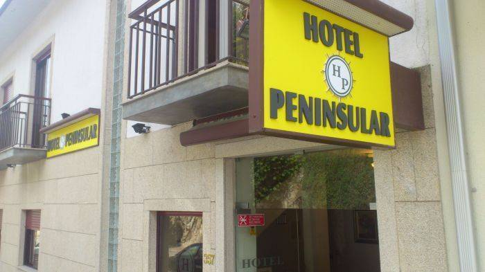 Hotel Peninsular, Caldelas, Portugal, Portugal hostels and hotels