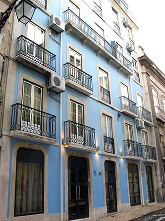Pensao Residencial Portuense, Lisbon, Portugal, Portugal hostels and hotels