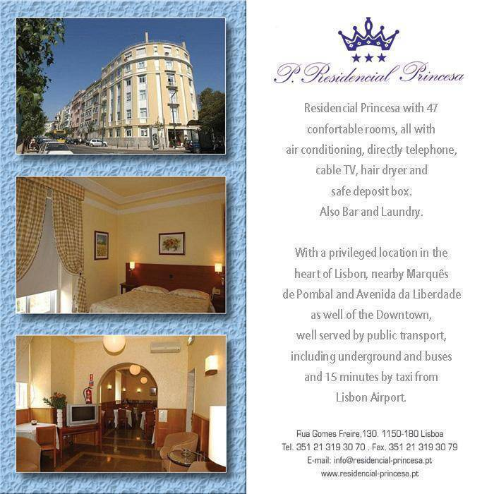 Residencial Princesa, Lisbon, Portugal, Portugal bed and breakfasts and hotels