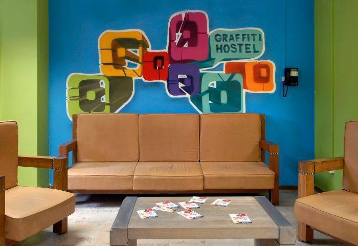 Graffiti Hostel, Saint Petersburg, Russia, passport to savings on travel and hostel bookings in Saint Petersburg