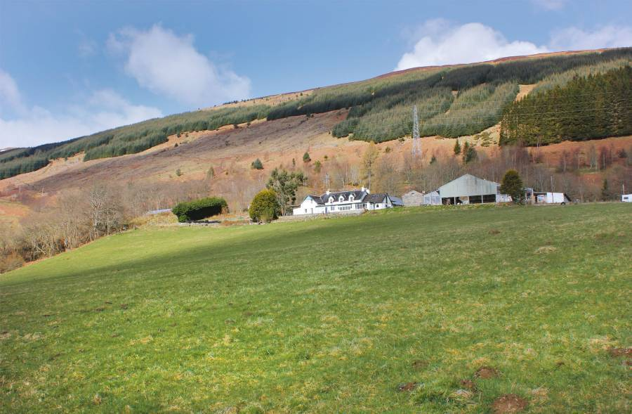 Boreland Loch Tay, Aberfeldy, Scotland, Scotland hostels and hotels