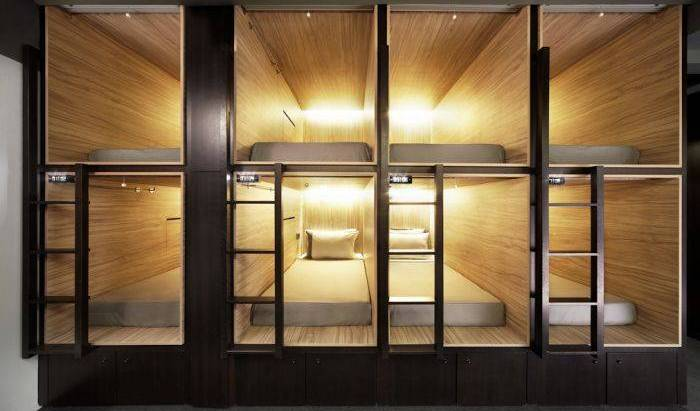The Pod - Boutique Capsule Hotel, youth hostels, motels, backpackers and B&Bs 16 photos